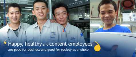 Happy, healthy and content employees are good for business and good for society as a whole.